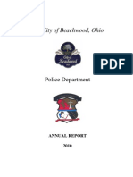 Beachwood Police 2010 Year End Report