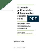 Economia Politica de Los DSS
