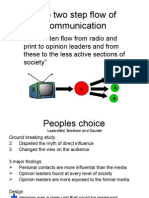 Two Step Flow Communication