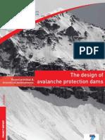 Design Avalanche Protection Dams