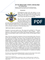 Units, History and Terminology of the ADF