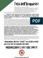"""Volantino Prc """"Gramsci"""" Nomine Precari Scuola Modena"""