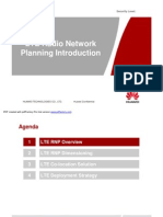 11 LTE Radio Network Planning Introduction