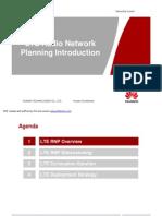 11 LTE Radio Network Planning Introduction