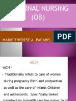 23316734 Maternal Nursing Ob