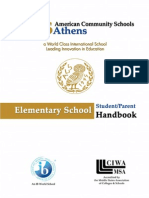 Elementary Parent Handbook 2011-12
