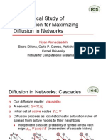 An Empirical Study of Optimization for Maximizing Diffusion in Networks