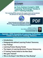 Ambient IT Training Snapshot - Jan 06