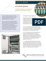 IS Machine Drive and Control Systems