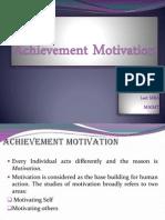 Achievement Motivation 2