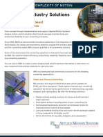 Paper and Film Converting Industry Solutions