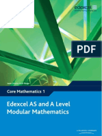 Edexcel Core Mathematics 1