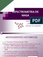 ESPECTRMOMETRIA DE MASA