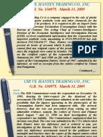 2-Cir vs Hantex