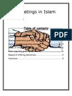 Greetings in Islam