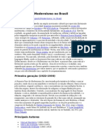 Modernismo No Brasil - Wikipedia