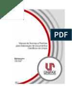 Manual_de_normas Para Trabalhos - Unipar 2011