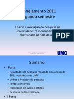 planejamento 2011_segundo semestre
