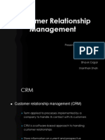 Customer Relationship Management Ppt