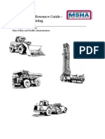 Noise Control Resource Guide – Surface Mining