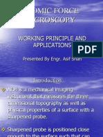 AFM (ATOMIC FORCE MICROSCOPY)