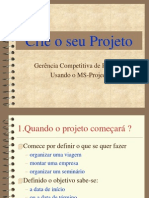 Tutorial MS Project Portugues