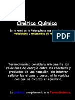Pimera Clase de Cinetica Quimica