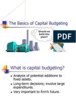 10 Capital Budgeting