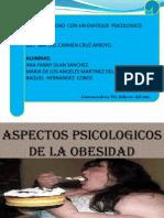 OBESIDAD PSICOLOGICA