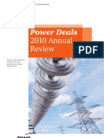 Power Deals 2010 Annual Review