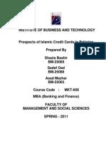 Islamic Credit Card Project