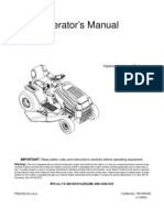 Huskee Riding Mower Manual