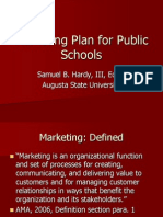 Marketing Plan for Public Schools