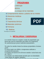 Tecnología de los materiales 1