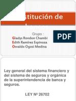 Constitución de bancos (2)