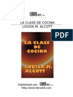Alcott, Louisa May - La Clase de Cocina