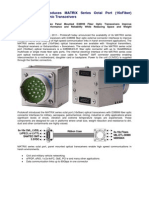 PROTOKRAFT Introduces MATRIX Series Octal Port D38999 Op to Electronic Transceivers