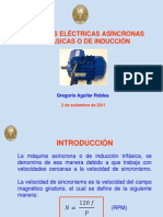 Estructura de una Maquinas Asíncrona Trifasica o de Inducción