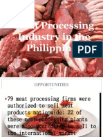 Meat Processing Industry in the Philippines