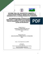 Diagnóstico ambiental de la cadena productiva ganadera