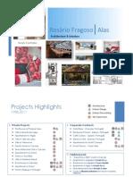 PORTFOLIO, English version - Maria R. Fragoso Alas