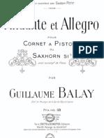 Balay Andante Et Allegro