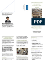 2012-14 JISP Flyer in English