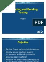 Grounding and Bonding Testing - Megger
