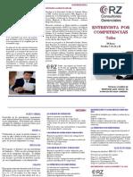 Brochure Taller Entrevista Por Competencias