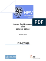 Cervical Cancer and HPV Philippines