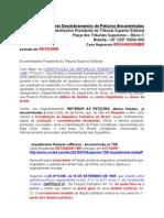 Peticoes STF TSE STJ MPF Informacoes Desdo