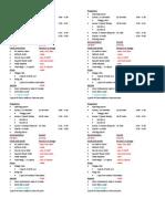 Program Flow of Acquaintance Party