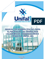 Manual Para Normalizacao Da Unifal-MG-Nov-2006
