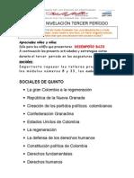 PLAN DE NIVELACIÓN TERCER PERIODO